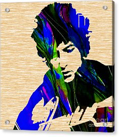 Bob Dylan Collection Acrylic Print by Marvin Blaine