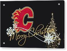 Calgary Flames Acrylic Print