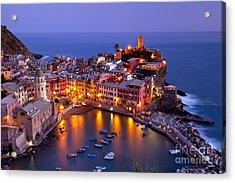 Cinque Terre Acrylic Print by Brian Jannsen