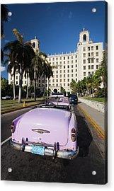 Cuba, Havana, Vedado, Hotel Nacional Acrylic Print by Walter Bibikow