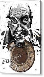 Digital Art - Er Ink Acrylic Print by Enache  Radu