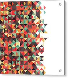 Geometric Art Acrylic Print