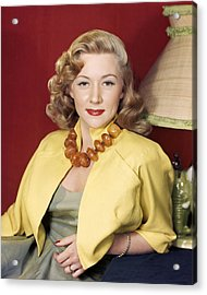 Gloria Grahame Acrylic Print by Silver Screen