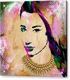 Iggy Azalea Collection Acrylic Print by Marvin Blaine