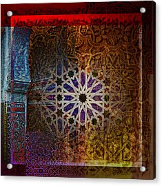 Islamic Motives Acrylic Print