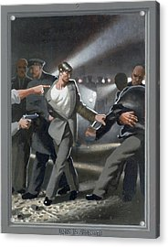 7. Jesus Is Arrested / From The Passion Of Christ - A Gay Vision Acrylic Print by Douglas Blanchard