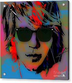 Jon Bon Jovi Collection Acrylic Print by Marvin Blaine