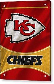 Kansas City Chiefs Uniform Acrylic Print