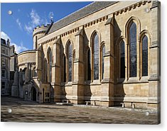 Knights Templar Temple In London Acrylic Print