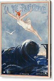 La Vie Parisienne  1923 1920s France Acrylic Print