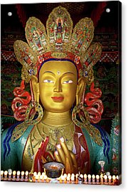 Ladakh, India The Interior Acrylic Print by Jaina Mishra
