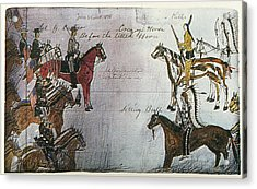 Little Bighorn, 1876 Acrylic Print by Granger