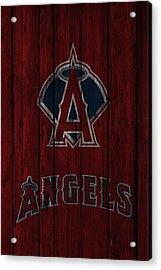 Los Angeles Angels Acrylic Print by Joe Hamilton