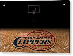 Los Angeles Clippers Acrylic Print by Joe Hamilton
