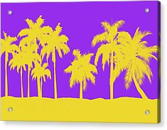 Los Angeles Lakers Acrylic Print by Joe Hamilton