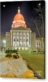 Madison Capitol Acrylic Print by Steven Ralser