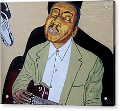 Mannish Boy. Muddy Waters. Acrylic Print