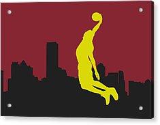 Miami Heat Acrylic Print by Joe Hamilton