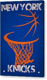 New York Knicks Acrylic Print by Joe Hamilton