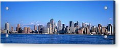 Nyc, New York City New York State, Usa Acrylic Print by Panoramic Images