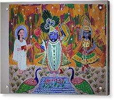 Painting Acrylic Print by Neha  Shah