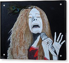 Piece Of My Heart. Janis. Acrylic Print