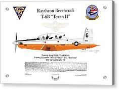 Raytheon Beechcraft T-6b Texan II Acrylic Print