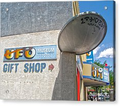 Roswell New Mexico Acrylic Print by Gregory Dyer