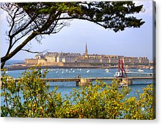 Saint-malo - Brittany Acrylic Print by Joana Kruse