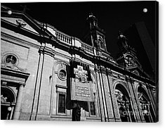 Santiago Metropolitan Cathedral Chile Acrylic Print by Joe Fox