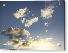 Sky Acrylic Print by Les Cunliffe