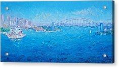 Sydney Harbour Bridge And The Opera House  Acrylic Print