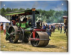 Traction Engine Acrylic Print by Jeff Dalton