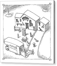 New Yorker April 30th, 2007 Acrylic Print