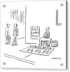 New Yorker November 14th, 2005 Acrylic Print