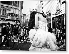 Untitled Acrylic Print by Tatsuo Suzuki