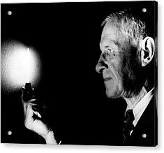 William Meggers Acrylic Print by Emilio Segre Visual Archives/american Institute Of Physics