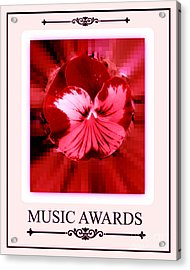 Music Awards Acrylic Print by Meiers Daniel