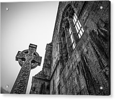 700 Years Of Irish History At Quin Abbey Acrylic Print