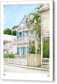 704 Caroline Street Acrylic Print