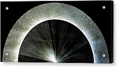 720 Pi Half Rainbow Acrylic Print