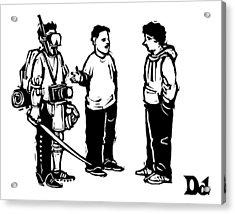 New Yorker January 5th, 2009 Acrylic Print