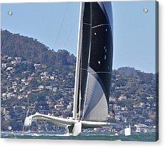 San Francisco Sailing Acrylic Print by Steven Lapkin
