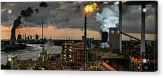 780a? A?? Industrial Pleasure Acrylic Print by Rainer Inderst