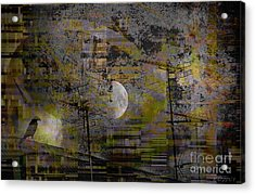 Acrylic Print featuring the digital art What Is Real Is Not The Exterior But The Idea, The Essence Of Things.  by Danica Radman