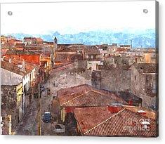 Arzachena Paesaggio Acrylic Print