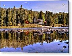Banff Alberta Canada Acrylic Print by Paul James Bannerman