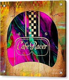 Cafe Racer Motorcycle Acrylic Print