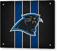 Carolina Panthers Acrylic Print by Joe Hamilton