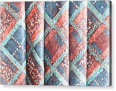 Colorful Cloth Acrylic Print by Tom Gowanlock